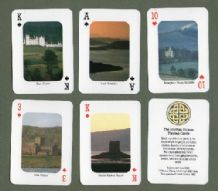 Collectible Souvenir  playing cards  The Scottish picture